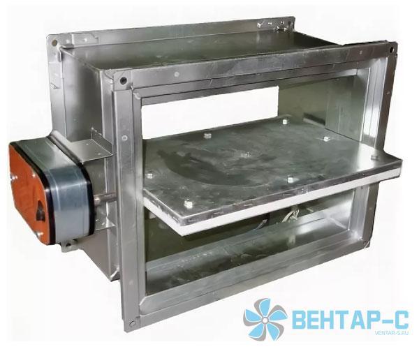Клапан UVS 60M/90M/120M-НО прямоугольного сечения