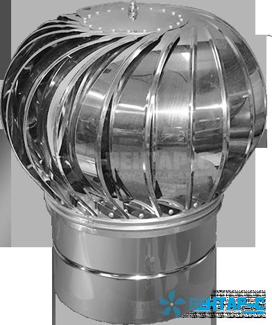 Турбодефлектор вытяжной вентиляции