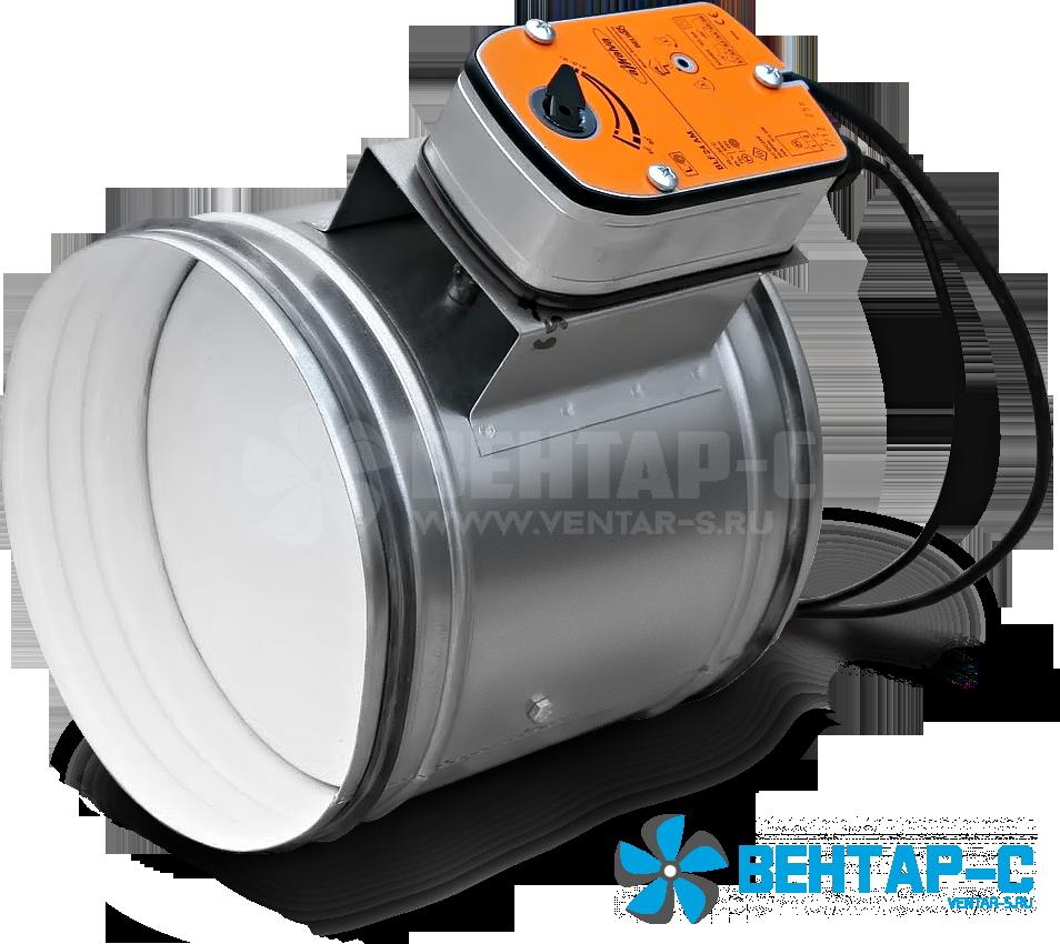 Клапан UVA 60M/90M/120M-НО, круглого сечения