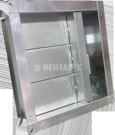 Клапан противопожарный лифтовой КДМ-2м-ЛС/КДМ-3-ЛС