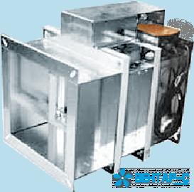 Клапан противопожарный FKS-2 (120)