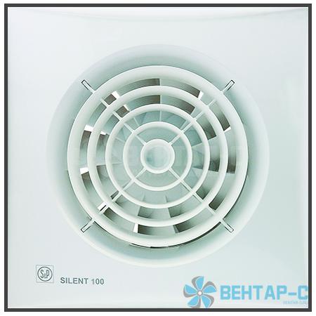 Вентилятор накладной SILENT-100 CRZ