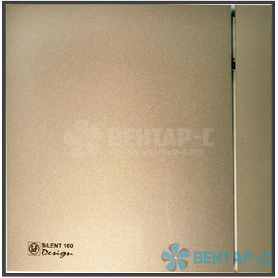Вентилятор накладной SILENT-100 CZ CHAMPAGNE DESIGN