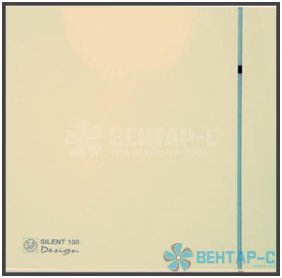Вентилятор накладной SILENT-100 CZ IVORY DESIGN