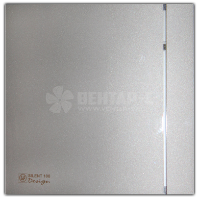Вентилятор накладной SILENT-100 CZ SILVER DESIGN