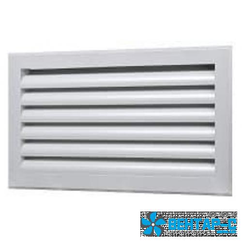 Наружная вентиляционная решетка ФВРС с S-образными жалюзи
