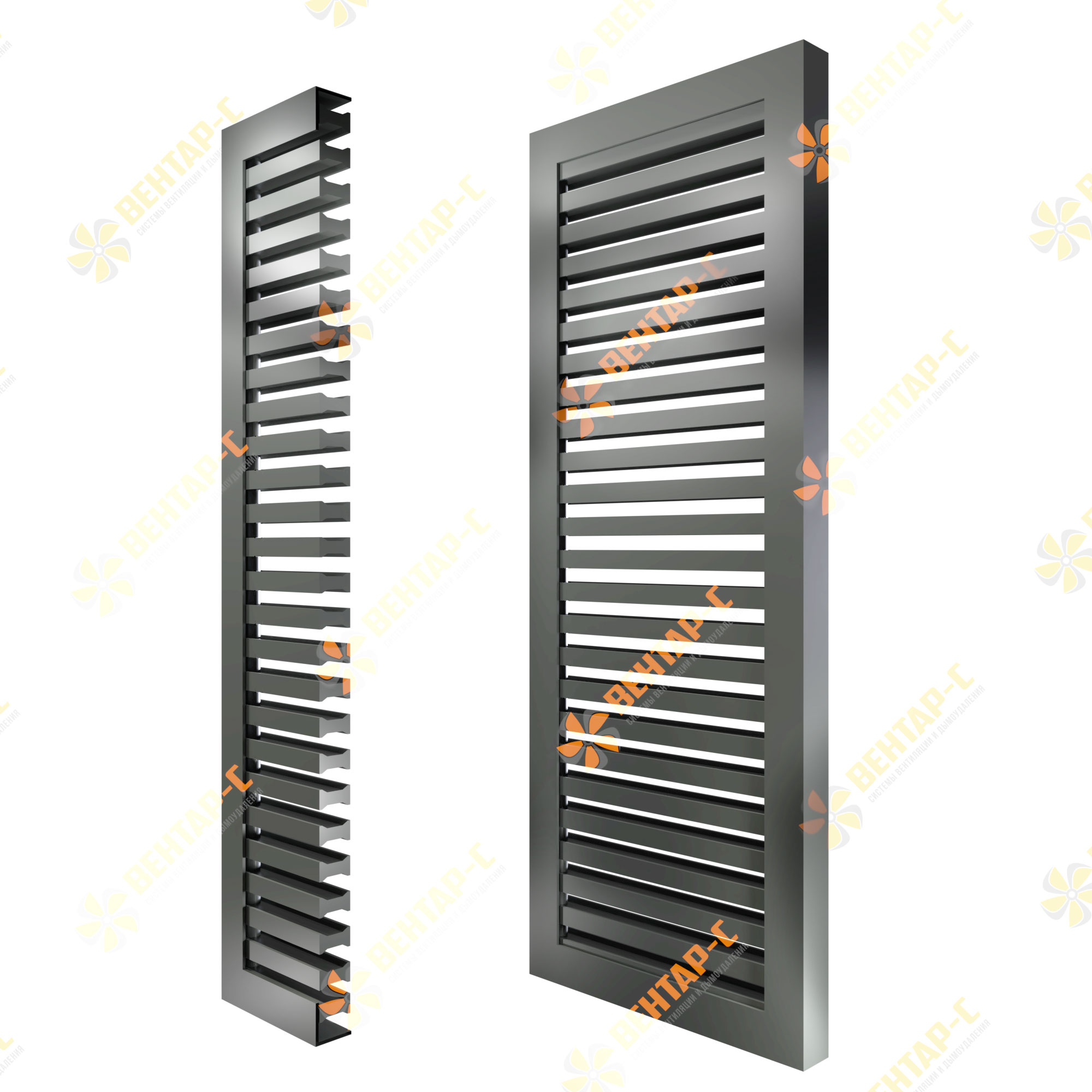 Напольная вентиляционная решетка РНП