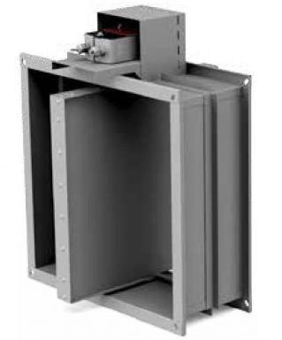 Клапаны двойного действия Сигмавент-15-ДД-АхВ-… огнестойкостью EI15