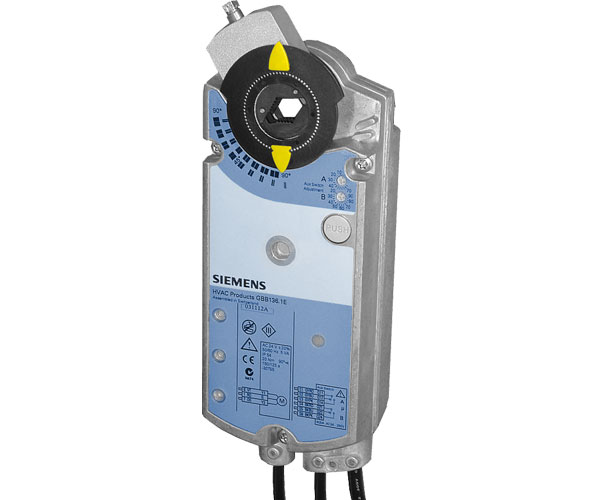 Привод Siemens GBB136.1E 25Нм/24В