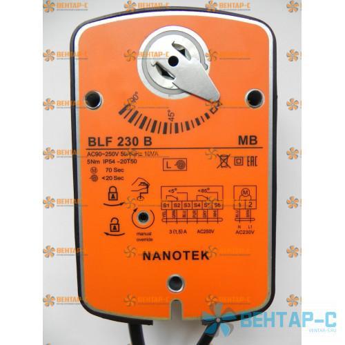 Электропривод Нанотек BLF 230 B (3 Нм)