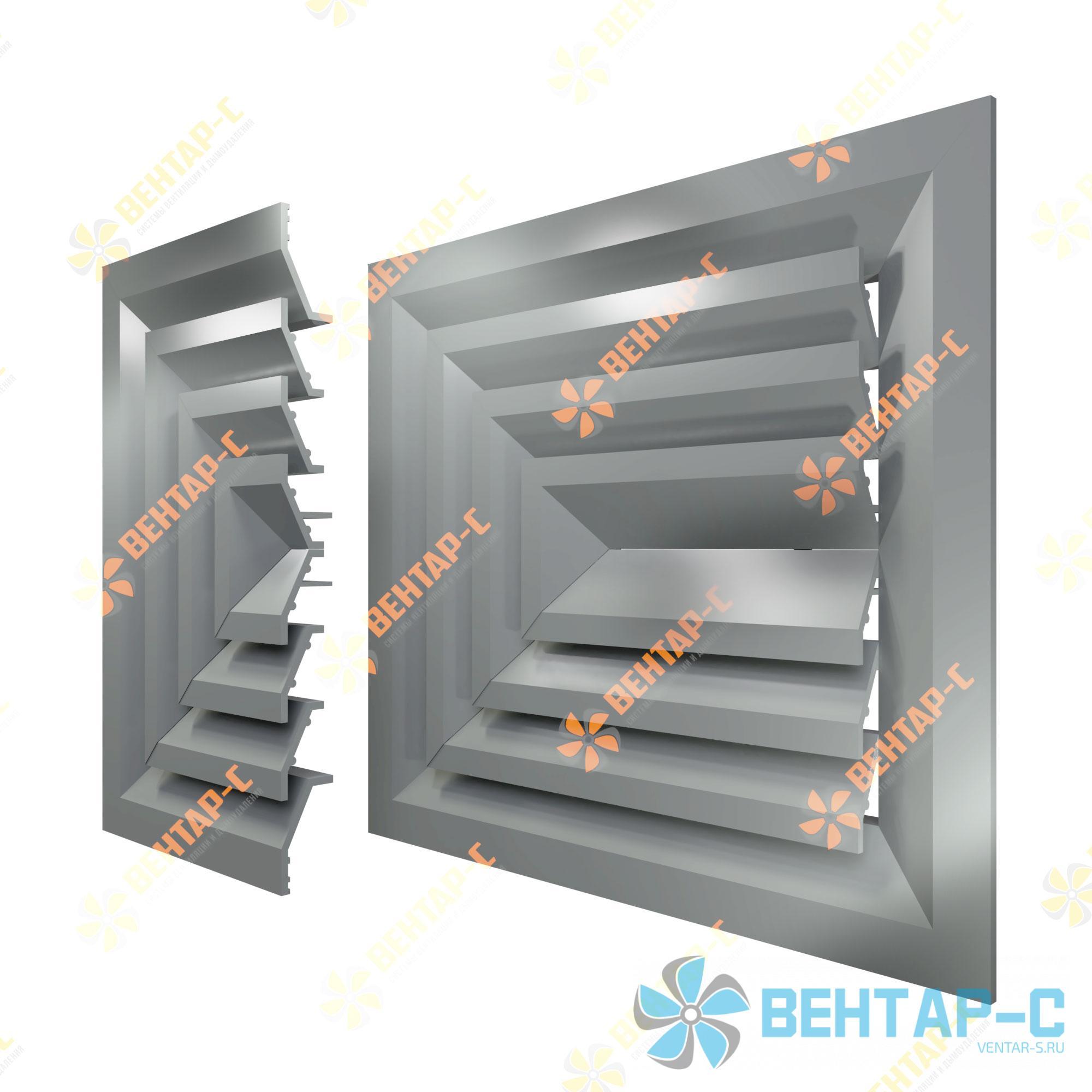 Потолочная вентиляционная решетка 3РП