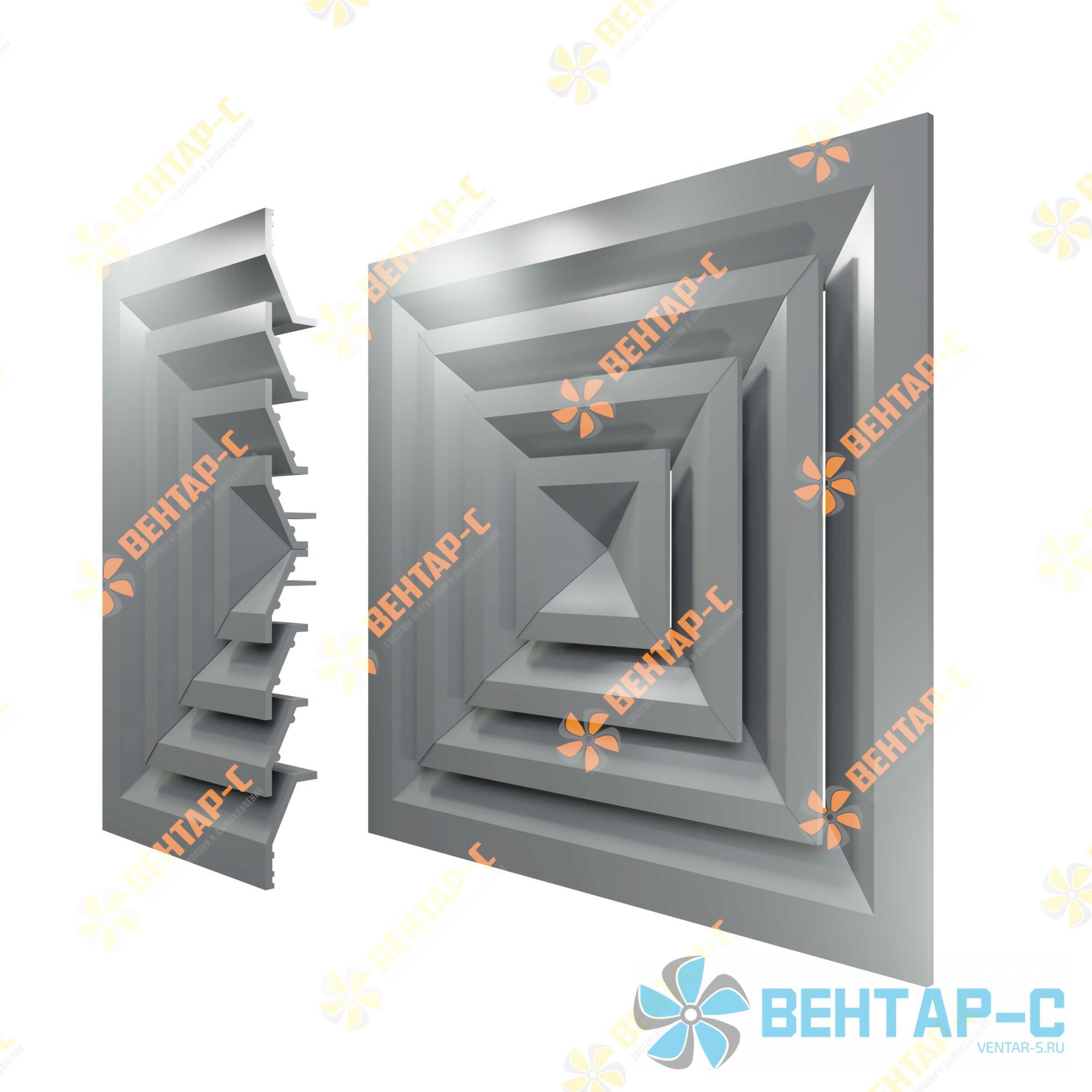 Потолочная вентиляционная решетка 4РП