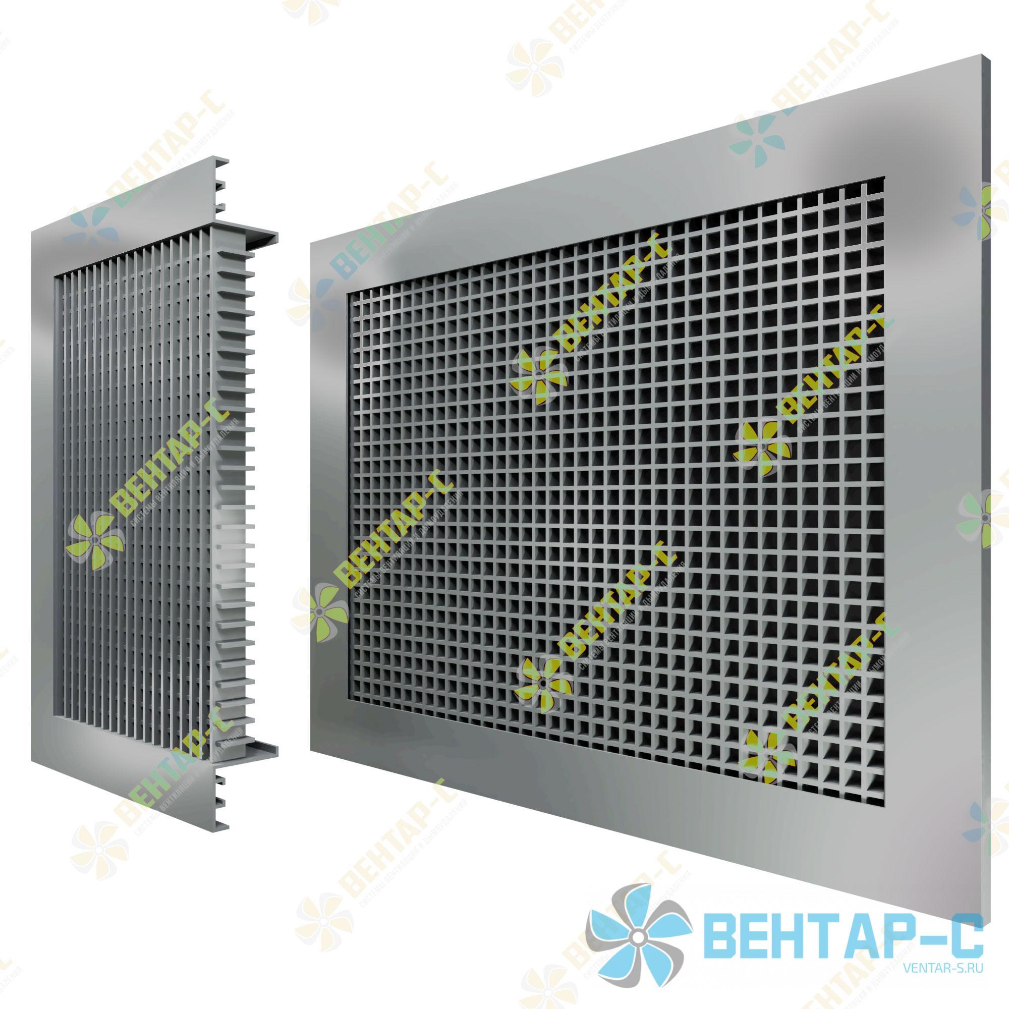 Потолочная ячеистая вентиляционная решетка 4ЯРА