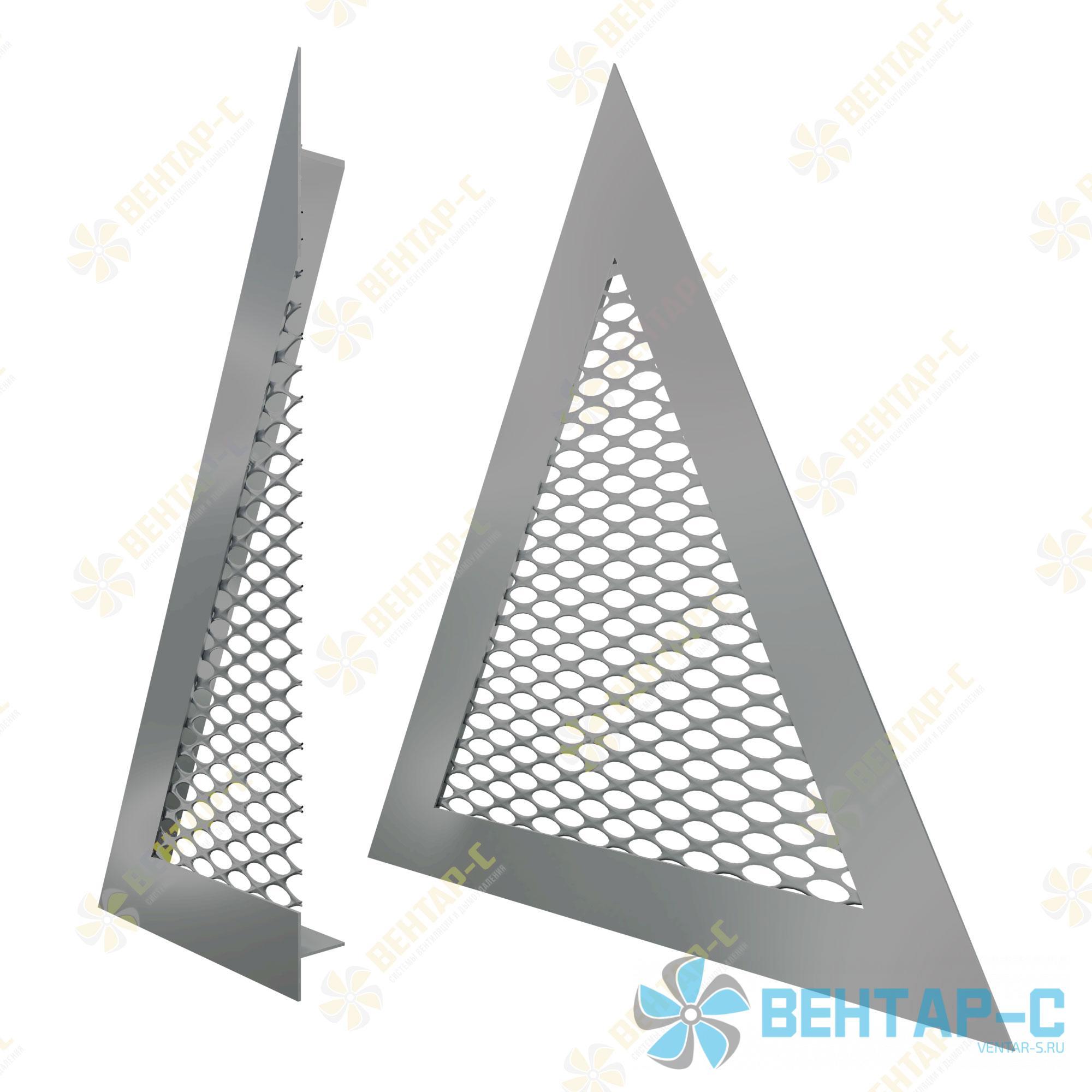 Сетчатая треугольная вентиляционная решетка РСТ