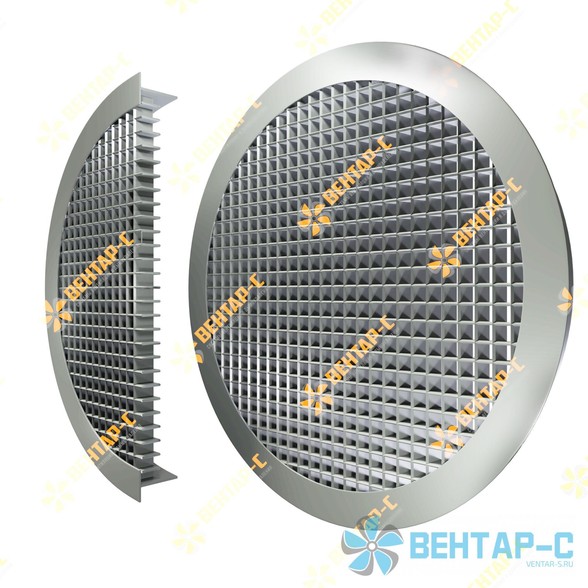 Ячеистая круглая вентиляционная решетка ЯРАК