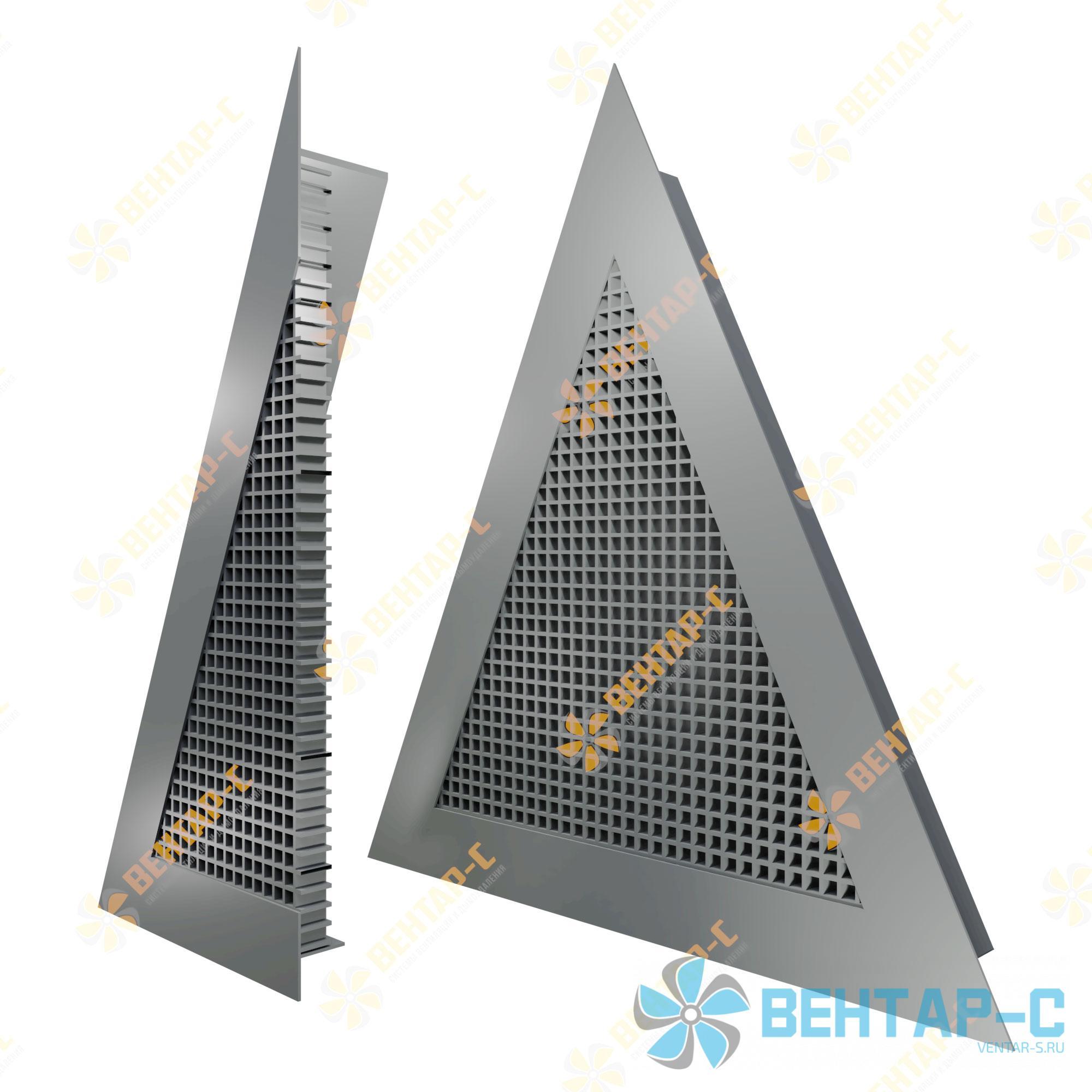 Ячеистая треугольная вентиляционная решетка ЯРАТ