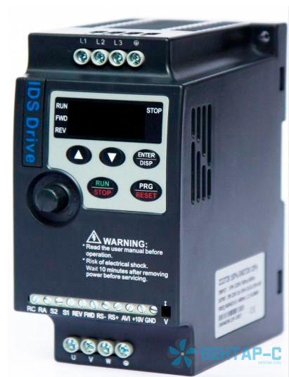 Частотный преобразователь IDS-Drive Z222T2B 2.2кВт/220В