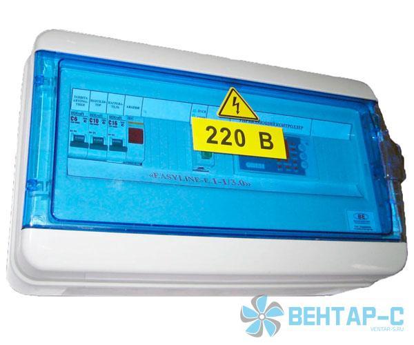 Щит управления с электрическим нагревателем ЕASYLINE-E 1-1/3,0