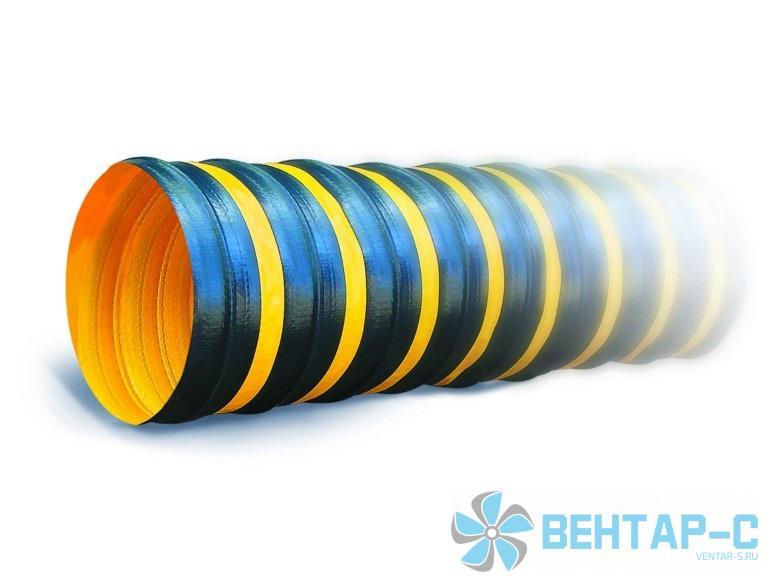 Гибкий воздуховод из полимерной ткани TEX PVC F 300 H