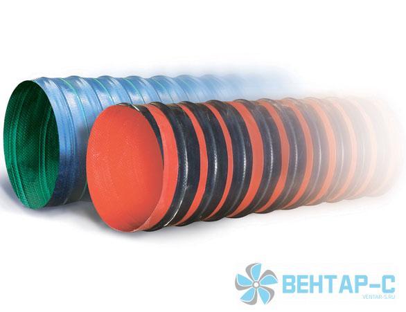 Гибкий воздуховод из полимерной ткани TEX PVC F 600 H
