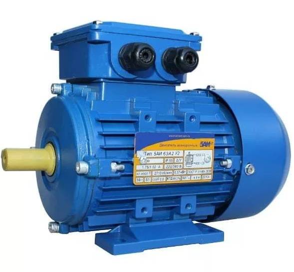 Многоскоростные электродвигатели серии АИР 63