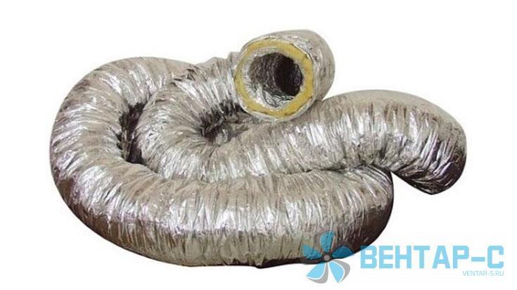 Воздуховод теплоизолированный гибкий серии ИЗО А