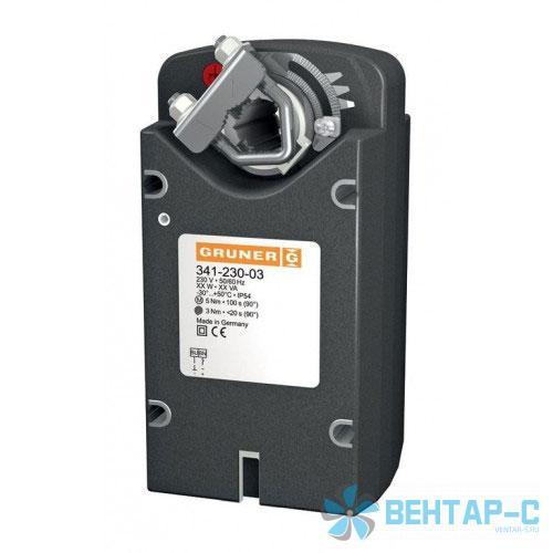 Электропривод Gruner 341-024-05-S2 5Нм/24В