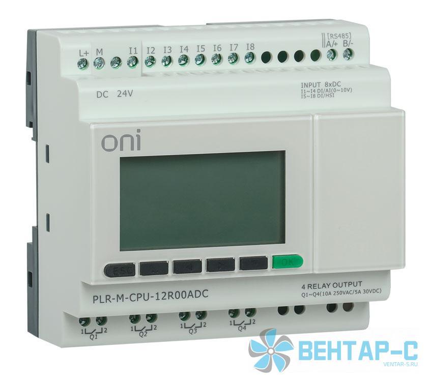 Микро ПЛК PLR-M. CPU DI12/DO06(R) 24В DC