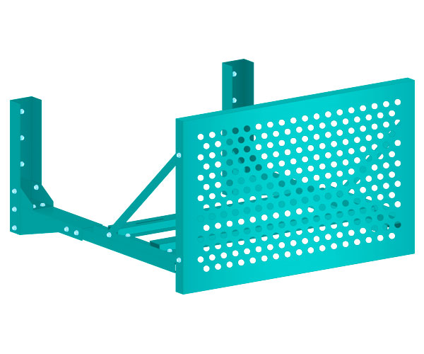 Экран наружного блока ЭДНБ-П (перфорированный)