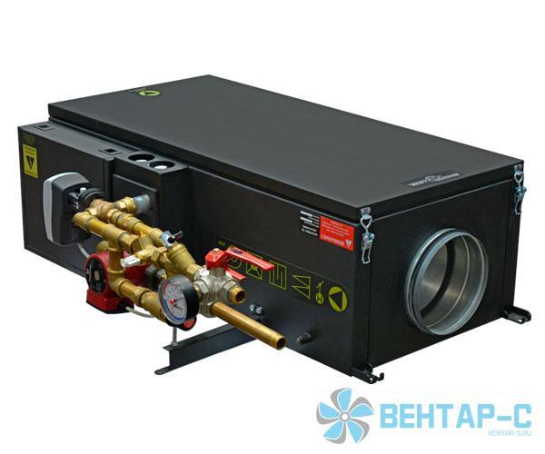 Канальная приточная установка с водяным калорифером Колибри-1000 Water EC