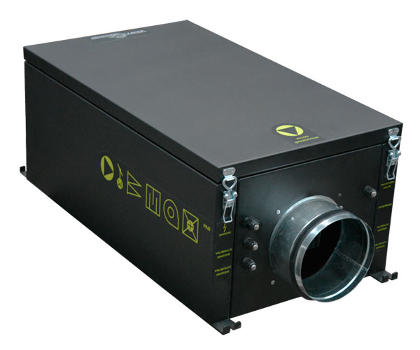 Вентиляционная установка Колибри 500 ЕС с электрическим калорифером