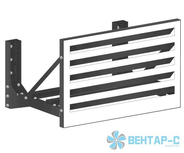 Решетка для кондиционера ЭДНБ-Л (экран ламмельный)