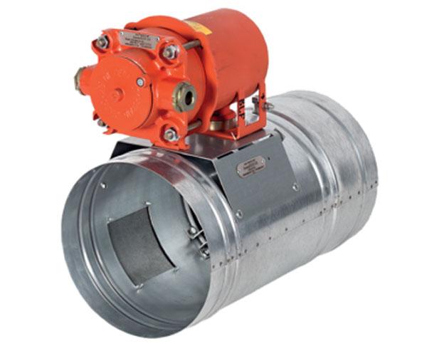 Клапан круглый ФКС-1М (60) взрывозащищённый
